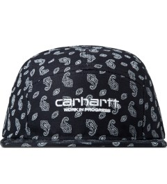 Carhartt WORK IN PROGRESS Jet/White Paisley Starter Cap Picutre