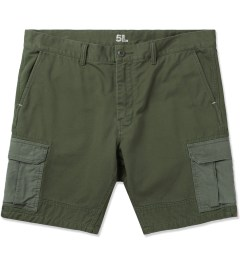 "Bedwin & The Heartbreakers Olive ""MANI"" 5/L Chino Cargo Pants Picture"