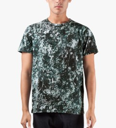 A.P.C. Multicolor Arbres T-Shirt Model Picture