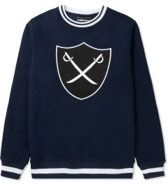 The Hundreds Navy Mill Crewneck Sweater Picture