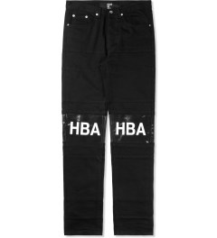 Hood By Air. Black Hockey Jeans Picture