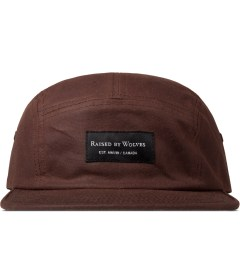Raised by Wolves Burgundy Millerain Algonquin 5-panel Cap Picture