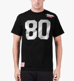 The Hundreds Black Jersey T-Shirt Model Picture