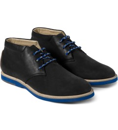Thorocraft Black Harloe Shoes Model Picture