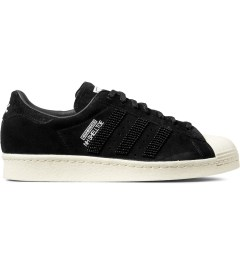 adidas Originals NEIGHBORHOOD x adidas Originals Black NH Shelltoe Shoes Picture