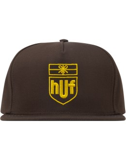 HUF Brown Delivery Snapback  Picture
