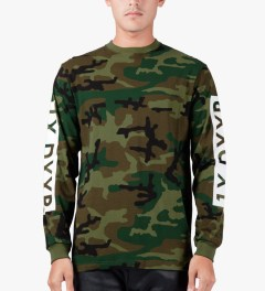 10.Deep Woodland Triple Box L/S T-Shirt Model Picture