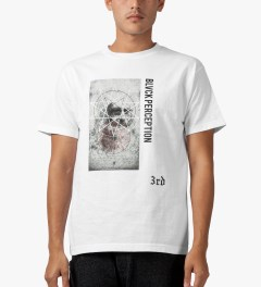 Black Scale White Perception T-Shirt Model Picture