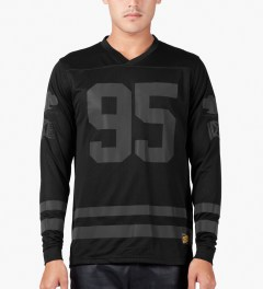 10.Deep Black All Saints Jersey Model Picutre