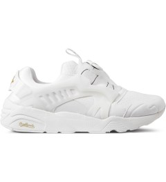 Puma White Trinomic Disc x Sophia CH Shoes Picture