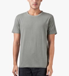Surface to Air Light Grey Washed Out T-Shirt Model Picutre