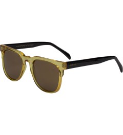KOMONO BLACK RIVIERA CIDER SUNGLASSES Model Picture