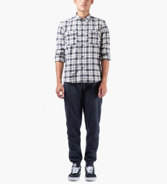 A.P.C. Marine Central Park Jogger Pants Model Picture