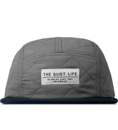 The Quiet Life Grey Quilted 5 Panel Cap Picture