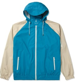 RAINS Sky Blue/Sand Bomber Jacket Picture