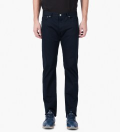 A.P.C. Dark Navy Petit Standard Jeans Model Picture