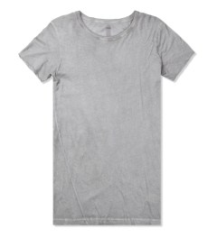 SILENT Damir Doma Grey Teylis Oval Neck T-Shirt Picture