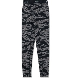 Undefeated Black Camo Basic Running II Pants Picture