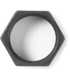 Icon Brand Matte Black Nut Ring Model Picture