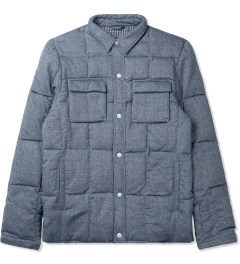 Penfield Blue Loring Down Insulated Shirt Picture