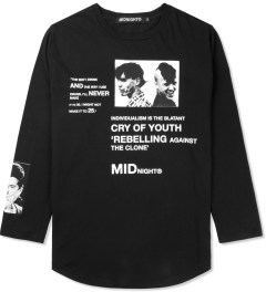 Midnight Studios Black Rebel L/S T-Shirt Picutre