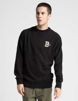BAU Black B Bolt Crewneck Sweater Picture