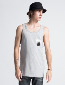 Stussy Heather Grey 8 Ball Tank Picture