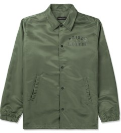 Raised by Wolves Olive Drab College Coaches Jacket Picture