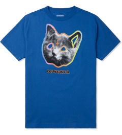 Odd Future Royal Blue OFWGKTA Tron Cat T-Shirt Picture