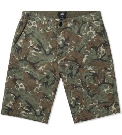 Stussy Olive Camo Ripstop Pocket Short Picutre