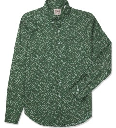 Naked & Famous Green British Flowers Regular Shirt Picture