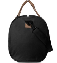 Herschel Supply Co. Black/Tan Ravine Duffle Bag Model Picture