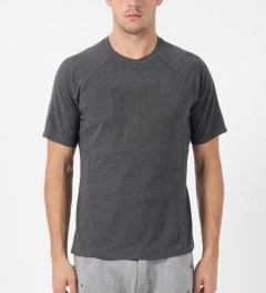 Undefeated Dark Grey Heather Technical II S/S T-Shirt Model Picture