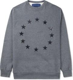 Études Studio Grey Stars Crewneck Sweater Picutre