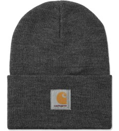 Carhartt WORK IN PROGRESS Dark Grey Heather Acrylic Watch Hat Picutre