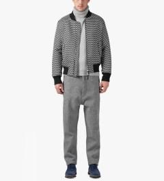 ami Grey Flannel Pants Model Picutre