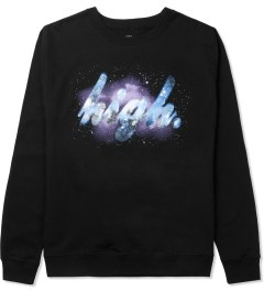 Odd Future Black High Galaxy Crewneck Sweater Picture
