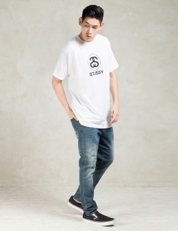Stussy White Cities Link T-Shirt Picture