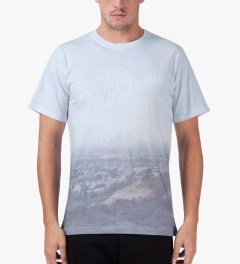 The Hundreds White Fog T-Shirt Model Picture