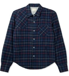 Band of Outsiders Blue L/S Button Down Shirt Picture