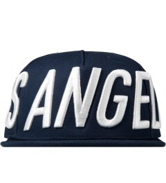 Stampd Dodger Blue Big LA Snapback Cap Picture