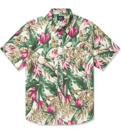 HUF Tan Waikiki S/S Woven Shirt Picutre