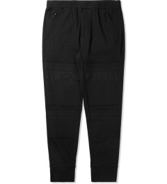 3.1 Phillip Lim Black Combo Front Panel Slim Lounge Pants Picture