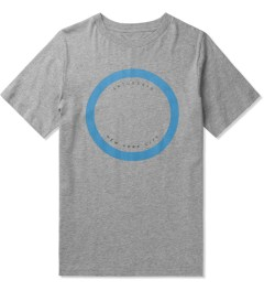 SATURDAYS Surf NYC Heather Grey Empty Circle T-Shirt Picture