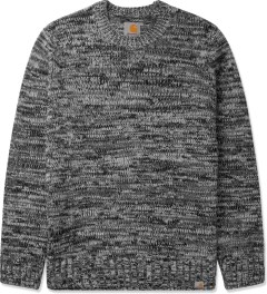 Carhartt WORK IN PROGRESS Dark Grey Heather Jacky Sweater Picutre