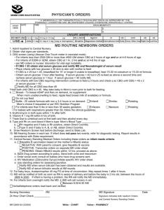 also routine newborn order rh studylib