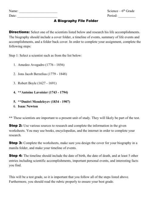 small resolution of Biography folder information (1)