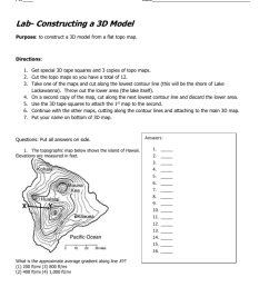 34 Earth Science Topographic Map Worksheet Answers - Worksheet Resource  Plans [ 1024 x 791 Pixel ]