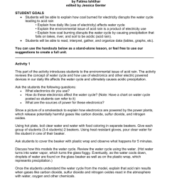 edited by jessica genter student goals students will be able to explain how coal burned for electricity disrupts the water cycle leading to acid rain  [ 791 x 1024 Pixel ]