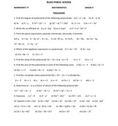 Worksheets for Grade 9_2 [ 1024 x 791 Pixel ]